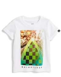 Quiksilver Checker Channel Graphic T Shirt