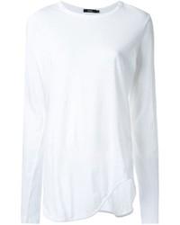 Bassike Curved Hem T Shirt