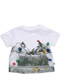 Stella McCartney Kids Chuckle Meat Free Monday Organic Cotton Tee