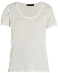 The Row Stilton Scoop Neck T Shirt