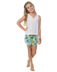O'Neill Girls Tamra Lace Trim Tank