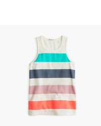 J.Crew Girls Tank Top In Multi Deck Stripe