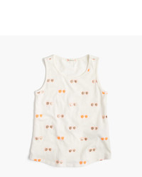 J.Crew Girls Tank Top In Sunnies