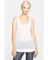 Michael Kors Michl Kors Slub Knit Tank White Medium