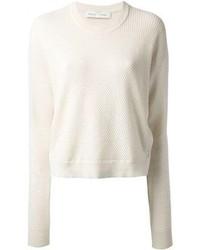 Piqu textured sweater medium 79501
