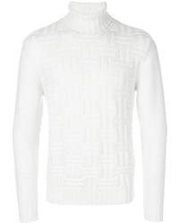 Eleventy Textured Turtleneck Sweater
