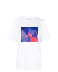 MSGM Graphic Print T Shirt