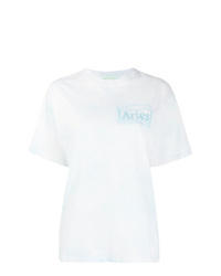 ARIES Tie Dye Print T Shirt