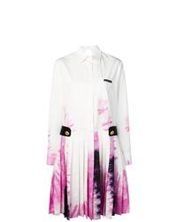 Prada Pleated Tie Dye Dress