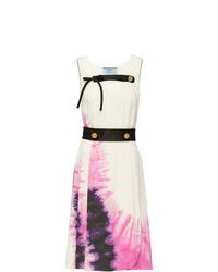 Prada Tie Dye Print Dress