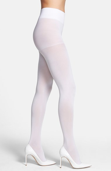e7c680a7be9 ... DKNY Opaque Control Top Tights ...