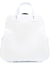 Comme des Garcons Comme Des Garons Comme Des Garons Large Croc Effect Tote