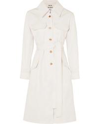 Acne Studios Olesia Cotton Blend Twill Trench Coat