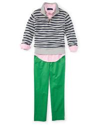 Ralph Lauren Boys 2 7 Suffield Cotton Chino