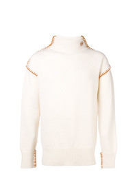 Loewe Blanket Stitch Turtleneck Sweater