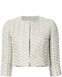 Cropped tweed jacket medium 4979671