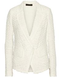 Donna Karan Linen And Cotton Blend Tweed Jacket