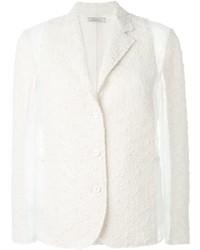 Panelled tweed blazer medium 425391