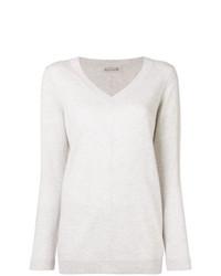 Hemisphere Cashmere V Neck Sweater