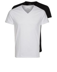 2 pack basic t shirt blackwhite medium 4158044