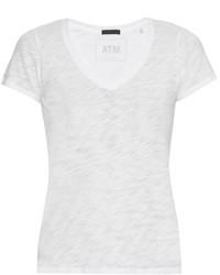 Atm Schoolboy V Neck T Shirt