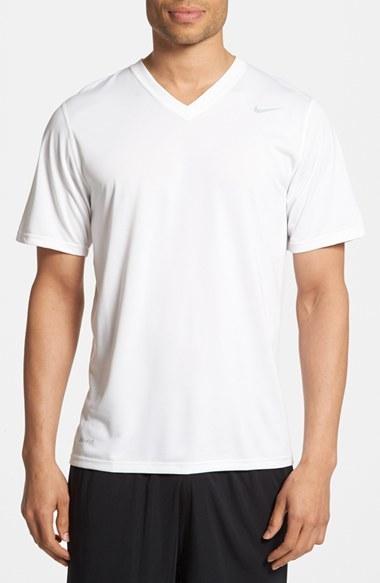 tee shirt nike col v