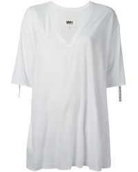 MM6 MAISON MARGIELA Oversize V Neck T Shirt