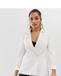 Forever New Petite Pin Stripe Blazer