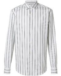 Salvatore Ferragamo Classic Striped Shirt