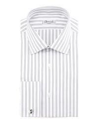 Charvet Striped French Cuff Dress Shirt