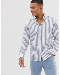 Selected Homme Slim Fit Shirt With Stripe