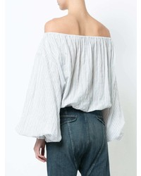 Nili Lotan Off Shoulder Shirt