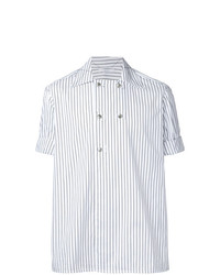 Aganovich Striped Short Sleeve Shirt