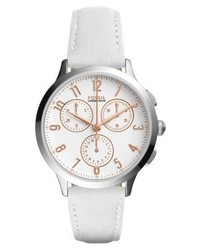 Abilene chronograph watch weiss medium 4123165