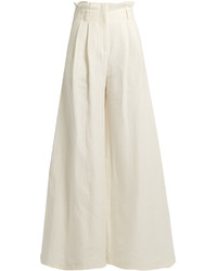 Awake High Rise Wide Leg Trousers