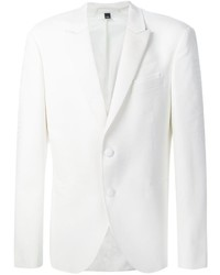 White Wool Blazer