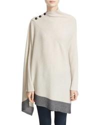 34a4fd6b9 White Wool Ponchos for Women   Women's Fashion   Lookastic UK
