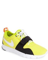 Yellow Athletic Shoes