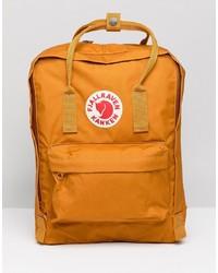 FjallRaven Classic Kanken Backpack In Yellow