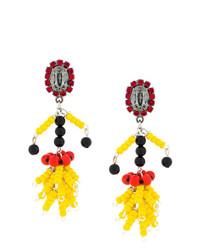 Marni Bead Pendant Earrings