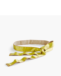 J.Crew Satin Ribbon Belt