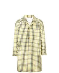 Yellow Check Overcoat