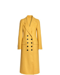 Burberry Double Breasted Cashmere Tailored Coat