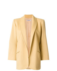 Yves Saint Laurent Vintage Open Front Coat
