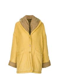 Romeo Gigli Vintage Oversize Textured Coat