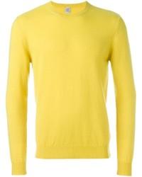 Yellow Crew-neck Sweater