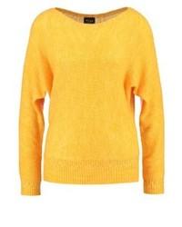 Viknitti jumper cadmium yellow medium 3941443