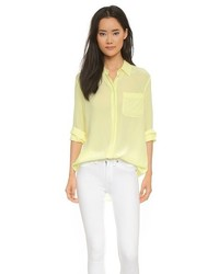 Equipment Langston Silk Blouse