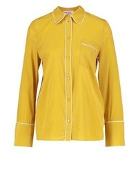 Mangena shirt oil yellow medium 3937253