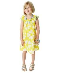 Masalababy Print Flutter Sleeve Dress